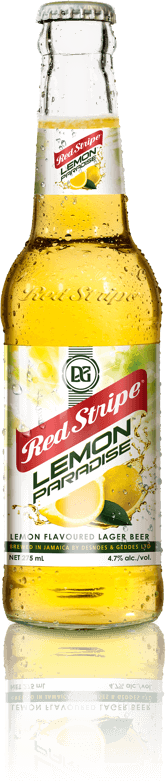 Red Stripe Lemon Paradise